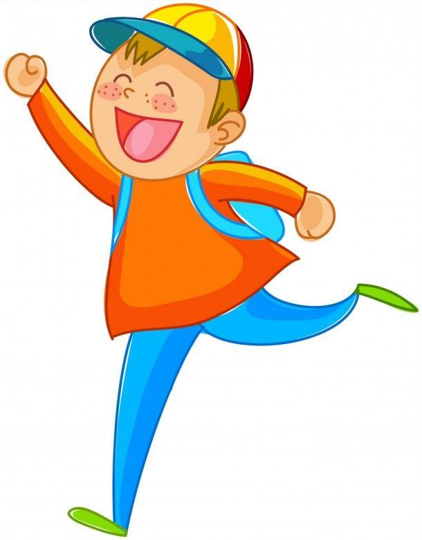 Funny Cartoon Pictures, Children Back to School 1