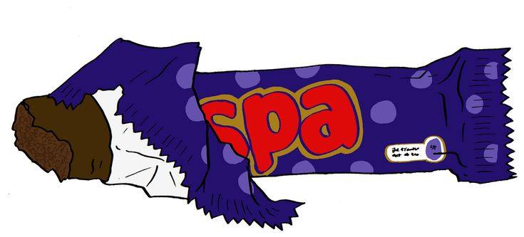 "https://flic.kr/p/a6o9xQ | Cadbury Wispa | Cadbury Wispa is a chocolate bar made by Cadbury UK. The bar was launched in 1981 as a trial version in North East England and with its success it was introduced nationally in 1983.[2] It was seen as a competitor to Rowntree's Aero (Now owned by Nestlé).[1] In 2003, as part of a relaunch of the Cadbury Dairy Milk brand, the Wispa brand was discontinued and the product relaunched as ""Dairy Milk Bubbly"". As part of the relaunch, the product ..."