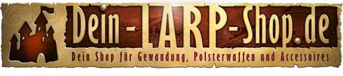 Versand von LARP Waffen, Rüstungen, Mittelalter Gewandung, mittelalterliche Kleider, Masken, Schminke, Lederwaren, Schmuck, ...