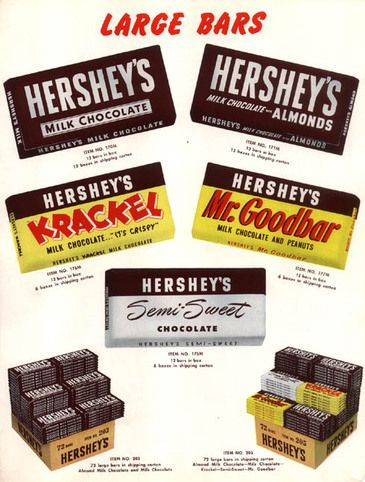 HERSHEY Bars -- an all-time favorite
