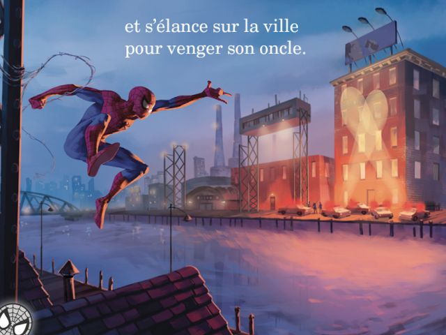 French Apps for Kids: The Amazing Spiderman