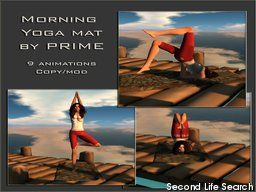 PrimBay - Morning Yoga mat Beach - by PRIME