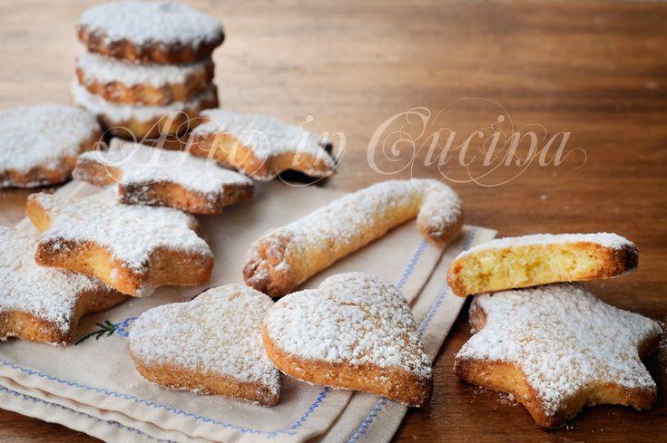 Bredele biscotti francesi al cocco ricetta veloce vickyart arte in cucina