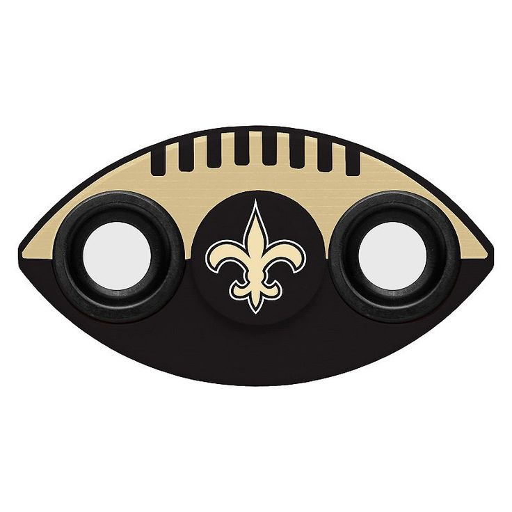 New Orleans Saints Diztracto Two-Way Football Fidget Spinner Toy, Multicolor