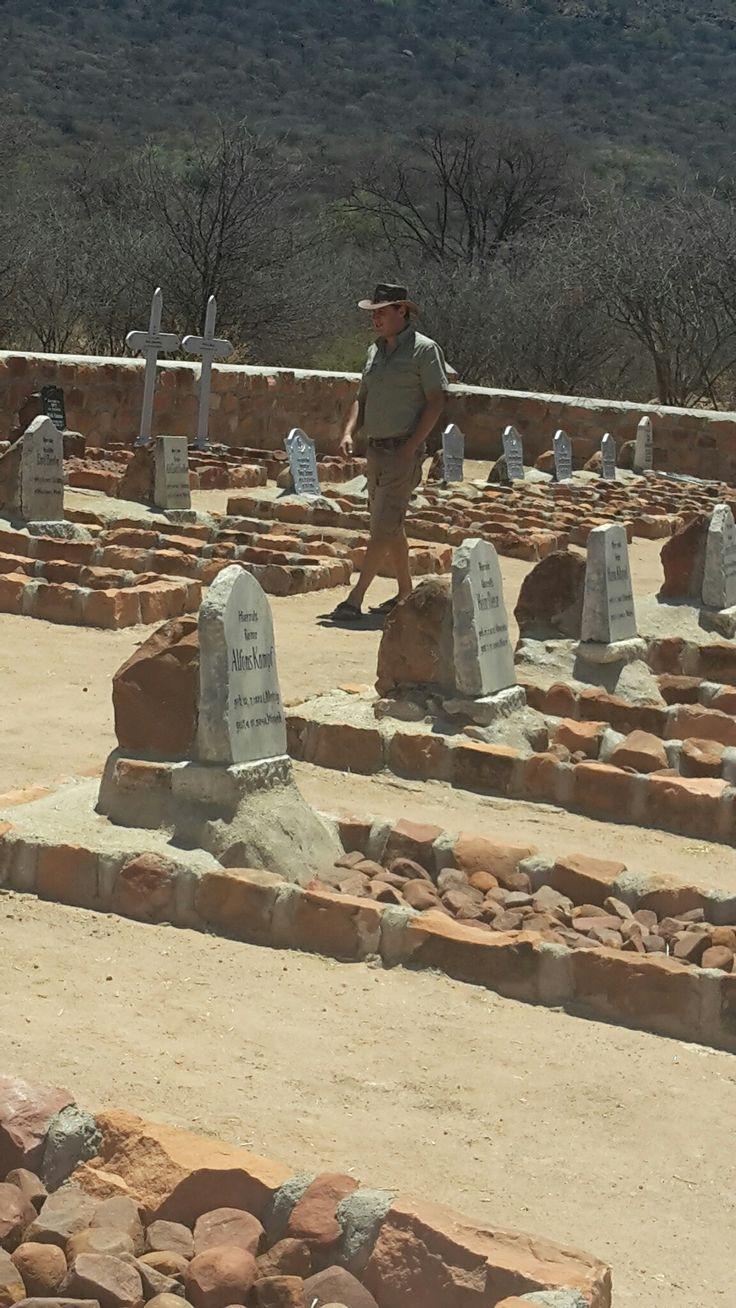 Deutscher Friedhof für  Gefallene Soldaten in Namibia