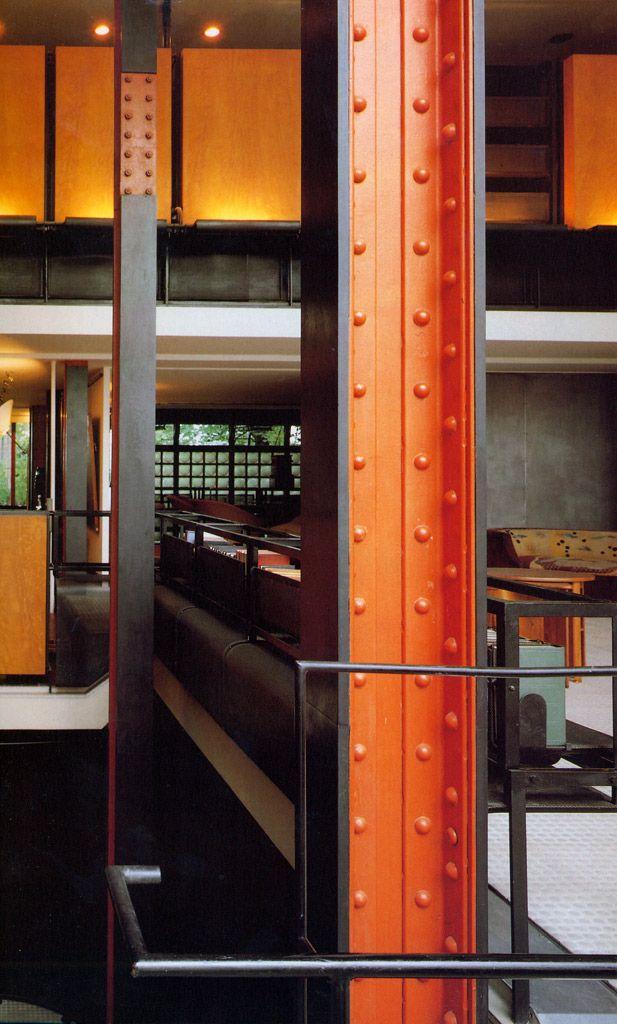 Pierre Chareau + Bernard Bijvoet. Maison du Verre (Maison Dalsace). París 1928-1932  Hoy cedemos nuestro espacio a un entusiasta grupo de e...