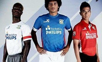 Persiba Balikpapan 2014 Injers Home, Away and Third Kits