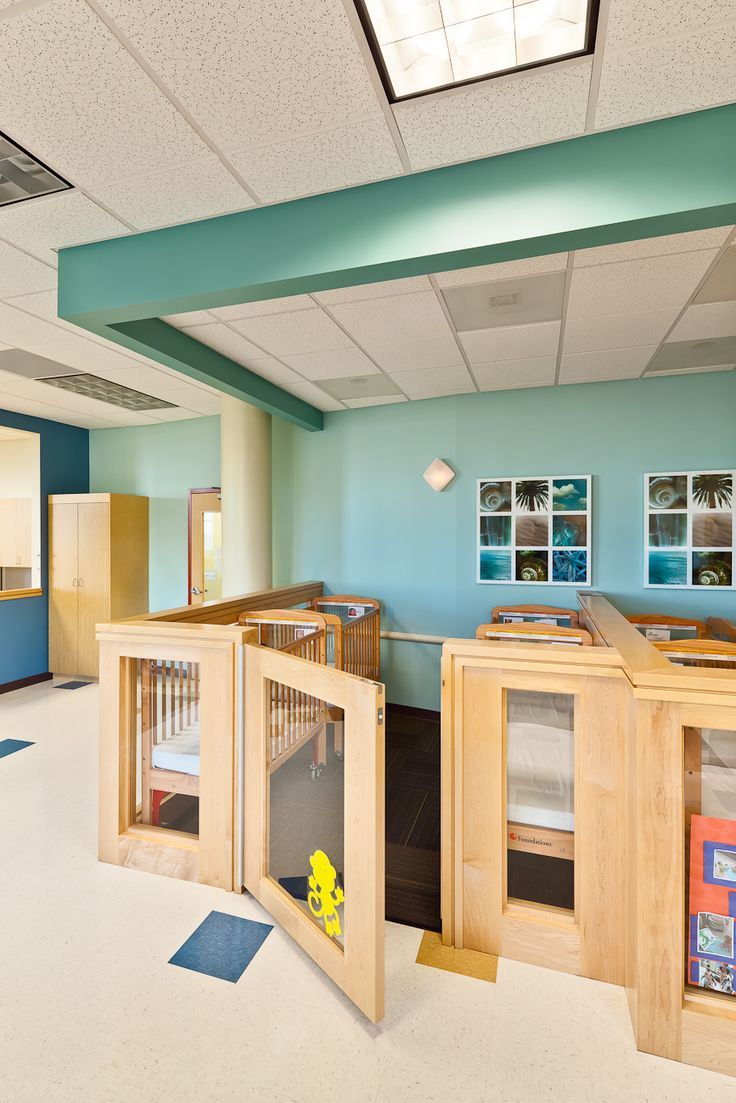 modern childcare facility for 215 students + staff. early