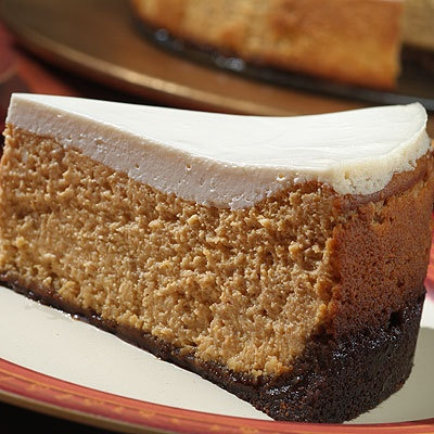 Holiday Gingerbread Pumpkin Cheesecake | Dinner is served | Pinterest