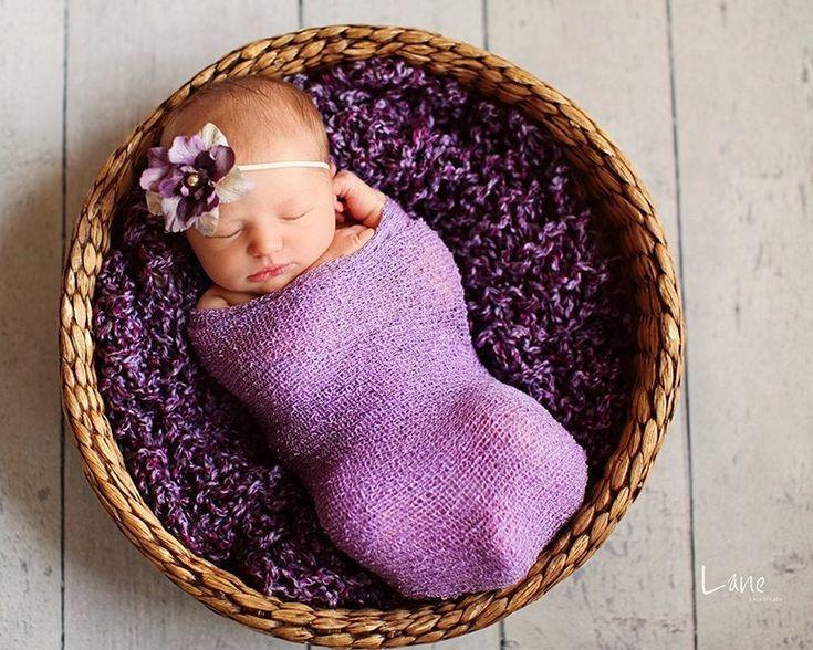 Newborn Blanket Stretch Wrap Lavender Lush Wrap Newborn In 2021 Infant Photography Props Newborn Wrap Newborn Baby Photos