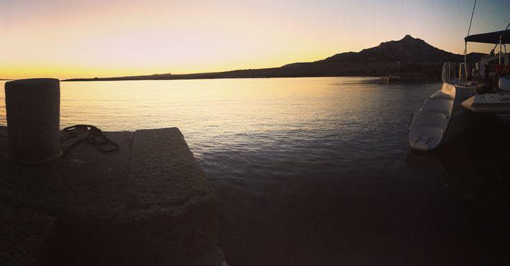 Il #tramonto di #fornelli #asinara ti rimane sempre nel cuore! #noleggioCatamaranoAsinara #asinaracatamaran #miguelcatamaran #noleggioCatamaranoSardegna
