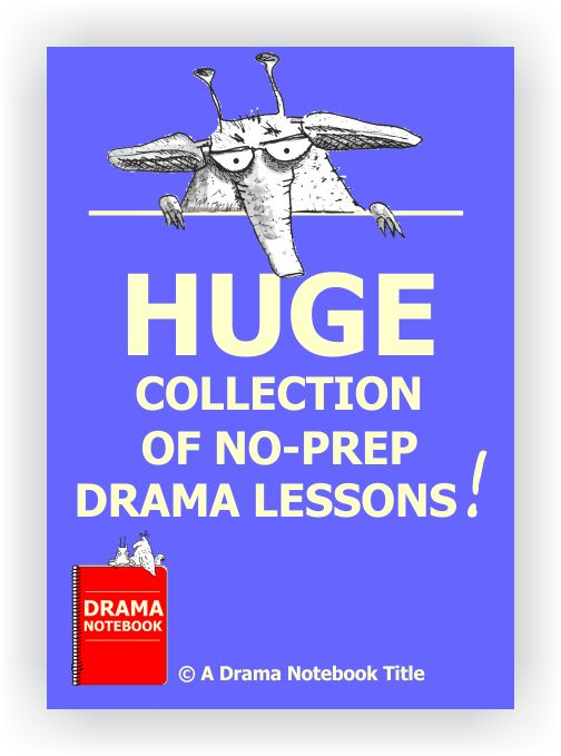 Zero planning time. Print and leave for a sub. Energize your class with a lesson they will LOVE. Make a Friday 'Grab Bag' ritual. Reward students for good behavior. This is a must-have for drama teachers!