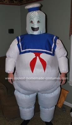 Coolest Homemade Stay Puft From Ghostbusters Halloween