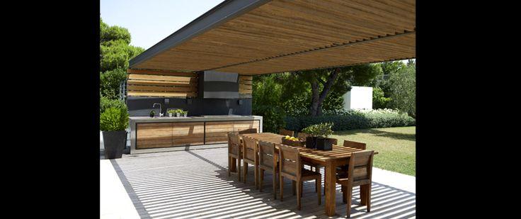 outdoor bbq space / ZEGE