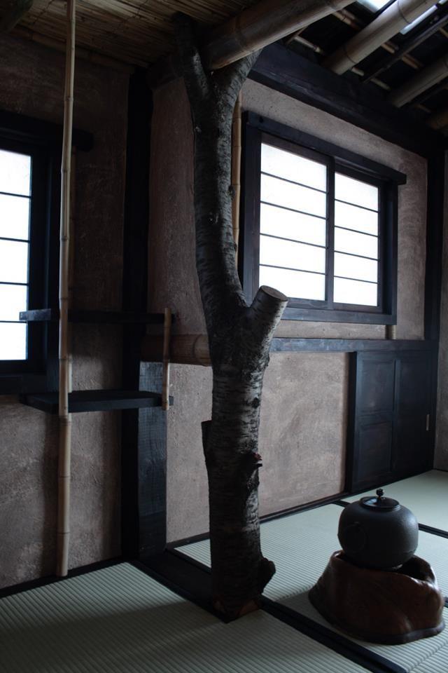 Habitación de té japonesa wabi-sabi • Wabi-sabi inspiring Japanese tea room