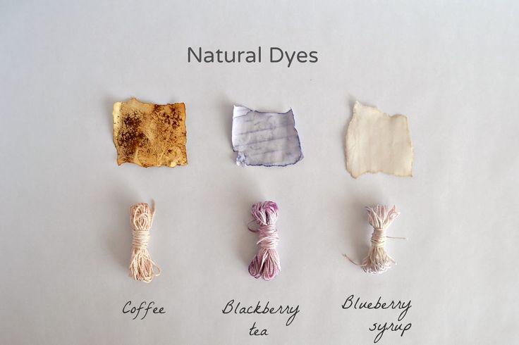 Interested in experimenting with natural dyes? Try this tutorial.