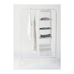 MULIG Portant, blanc - 99x46 cm - IKEA