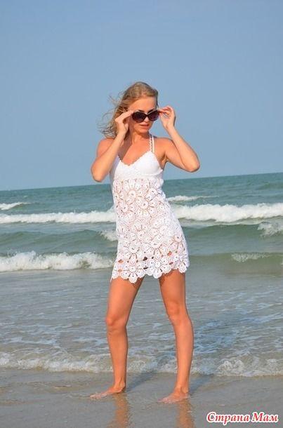 Пляжные наряды для девушек.