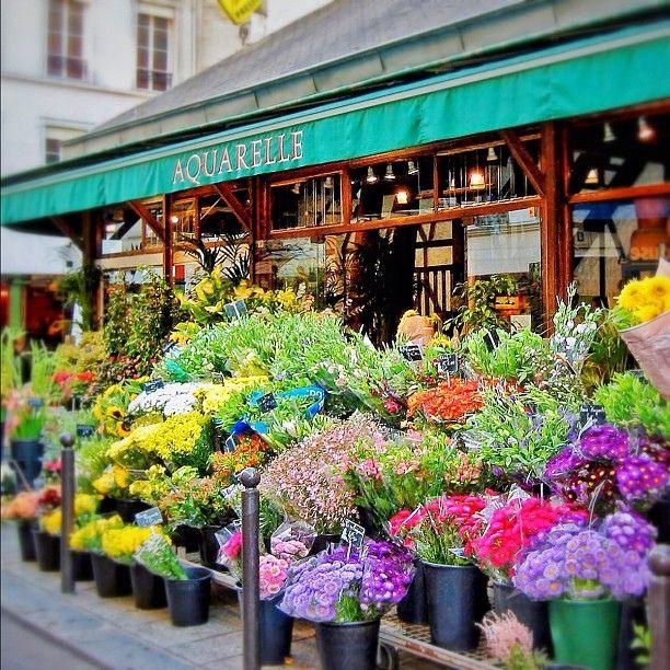 Магазин цветов париж