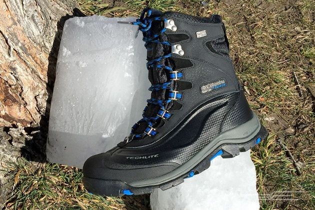 The Best Men's Winter Boots | The Columbia Bugaboot Plus III Titanium Omni-Heat boots are warm and waterproof, and they provide adequate traction even on the surface of a freshly groomed ice rink.