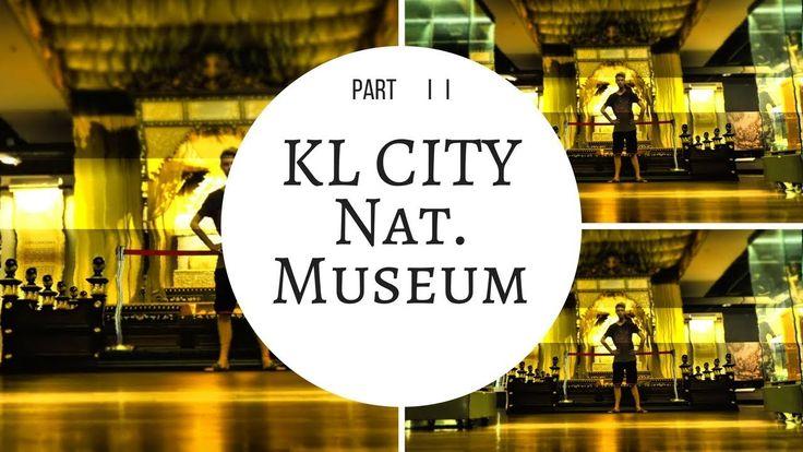 KUALA LUMPUR VLOG : National Museum  - War Memorial -  King`s Palace & M...