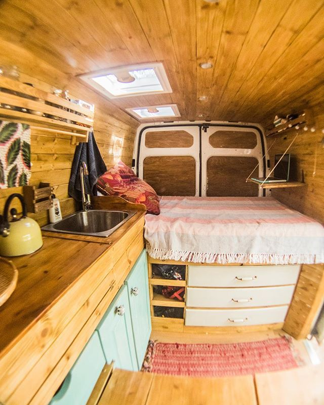 WEBSTA @ veggievanlife - Keeping our van this tidy is near impossible! For this…