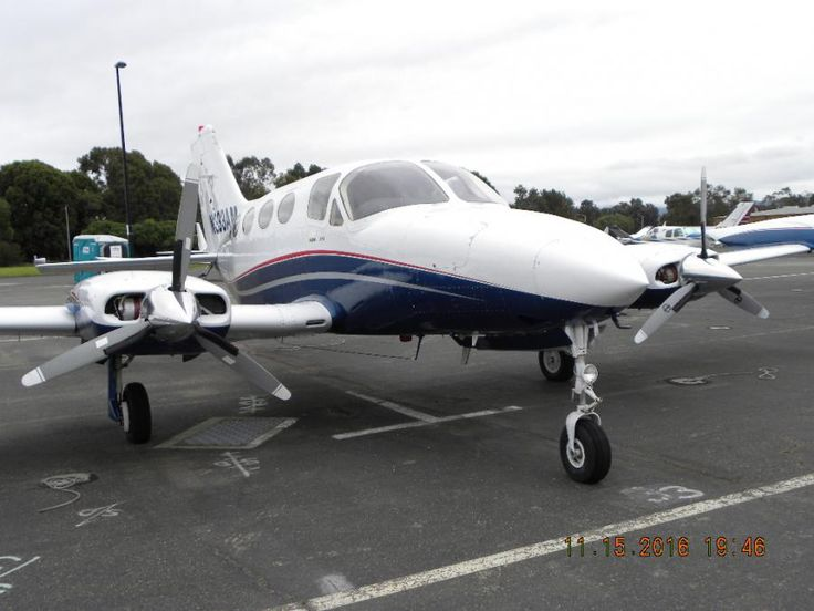 1975 Cessna 414 RAM for sale in Palo Alto, CA United States => www.AirplaneMart.com/aircraft-for-sale/Multi-Engine-Piston/1975-Cessna-414-RAM/13587/