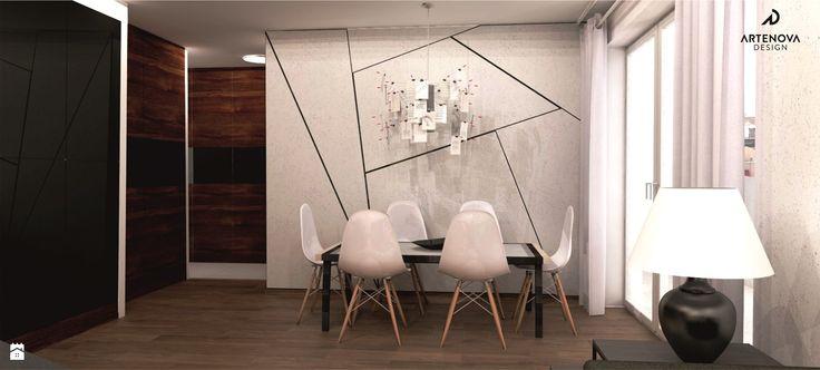 Jadalnia styl Minimalistyczny - zdjęcie od Artenova Design - pracownia projektowania wnętrz - Jadalnia - Styl Minimalistyczny - Artenova Design - pracownia projektowania wnętrz