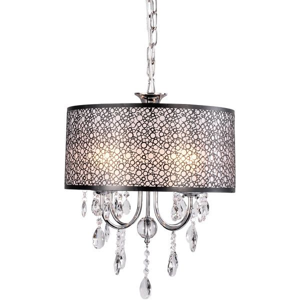 Chandeliers Crystal Traditional/Classic Bedroom / Dining Room Ligh... ($110) ❤ liked on Polyvore featuring home, lighting, ceiling lights, array0x145839b0, crystal lights, traditional ceiling lights, czech crystal chandeliers, crystal hanging lamps and crystal hanging lights