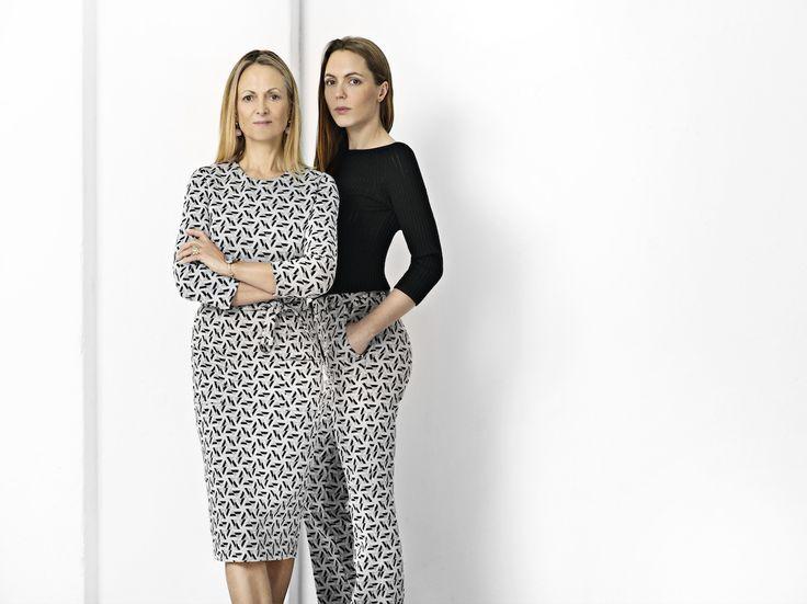 Elise Gug: Trudy dress/9189 Emilie Gug: Trudy pants/465, Cotton shirt/790