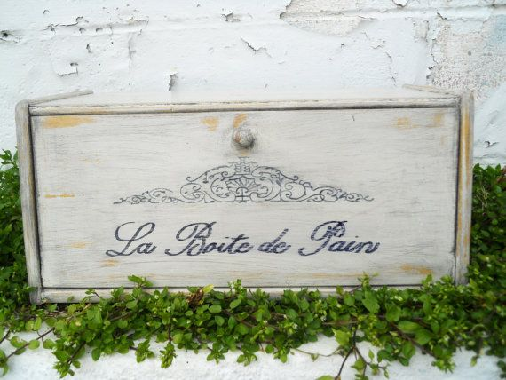 French Vintage Bread Box