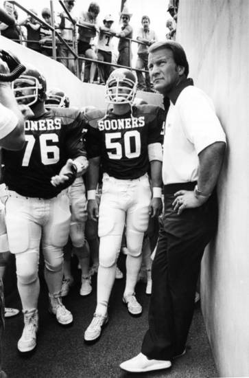 Barry Switzer. 1981.