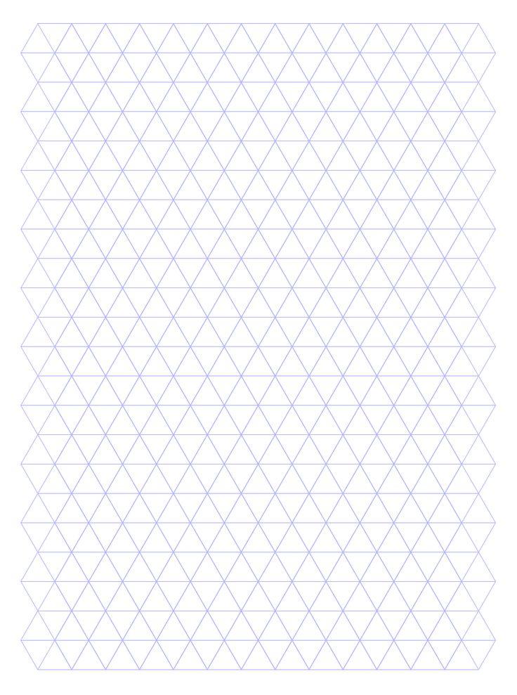 printable hexagon graph paper