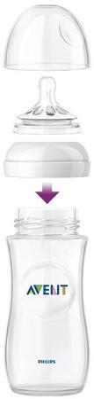 Natural с силиконовой соской 0+, 260 мл., 2 шт.  — 1245р. ------ Бутылочка Philips AVENT Natural для кормления помогает легче совмещать грудное вскармливание и кормление из бутылочки. Благодаря инновационному дизайну, малышу теперь легче захватить соску, а его сосательные движения будут такими же, как при кормлении грудью. Клинические исследования доказали, что бутылочка для кормления Philips AVENT Natural значительно снижает риск возникновения колик и появления раздражительности, особенно в…