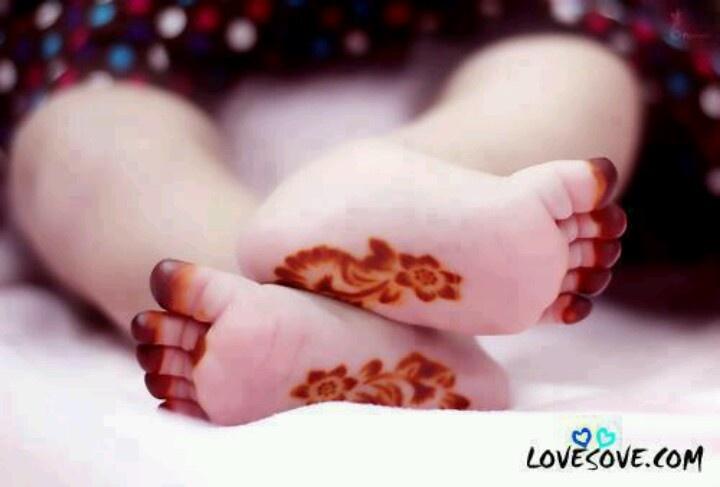 Baby henna