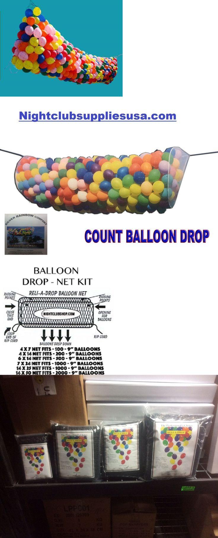 Balloons 26384: Balloon Drop Kit Ballons Balloon Drop For Parties Balloon Kit 14X6 Feet -> BUY IT NOW ONLY: $49.99 on eBay!