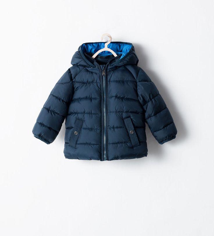 ZARA - ENFANTS - Blouson matelassé avec capuche amovible