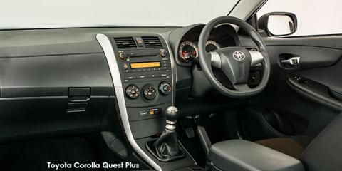 New Car Deals | Get a brand new Toyota Corolla Quest 1.6 auto in South Africa at a discount