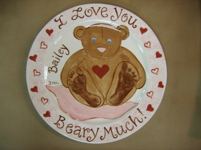 Baby Pottery Painting Ideas