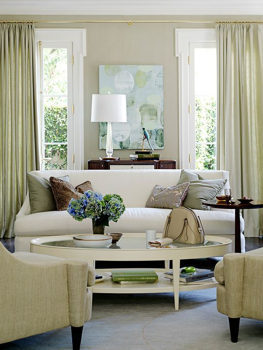 Have You Seen These Popular Living Rooms on Pinterest? - laurel home | interior design by Barbara Barry