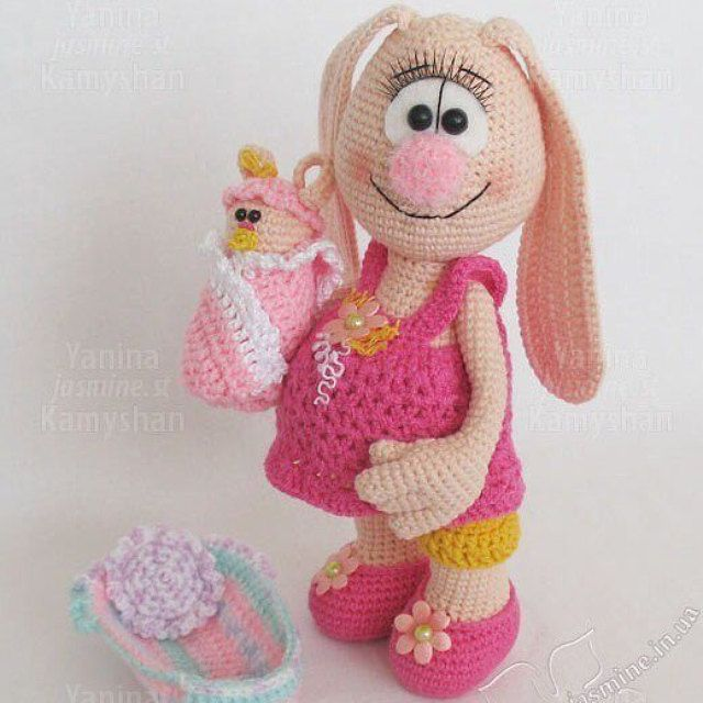Crochet and Knitting Patterns by Yanina Kamyshan by jasminetoys