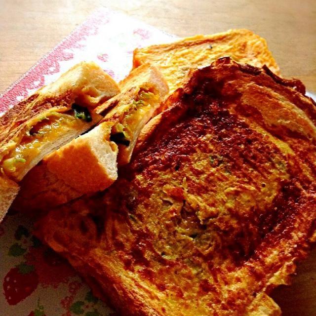 ヒルナンデスで紹介された人気メニューを再現しました。  アレンジがきくし、作り置きも出来るのでランチやおやつにも良さそうです。 - 32件のもぐもぐ - 朝においしいトースト by peacefulriver