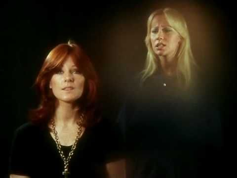 Abba - Knowing Me, Knowing You - Abba's music videos, you guys. Standing and singing.