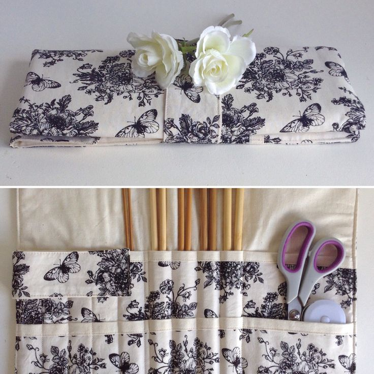 Just listed this butterfly knitting needle organiser. Only one available.