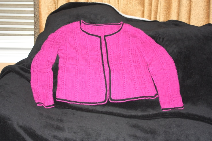 bergere jacket finished