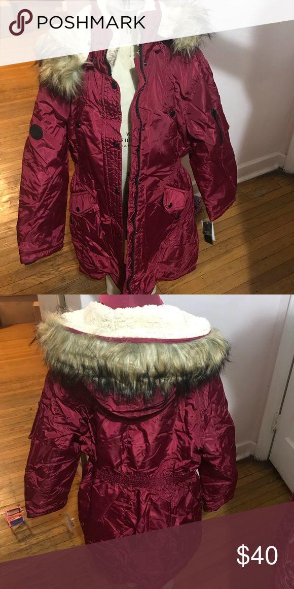 Steve Madden Girls Jacket Brand New girls size Steve Madden Jacket.  Sizes available S (7/8), M (10/12), L (14/16) Steve Madden Jackets & Coats