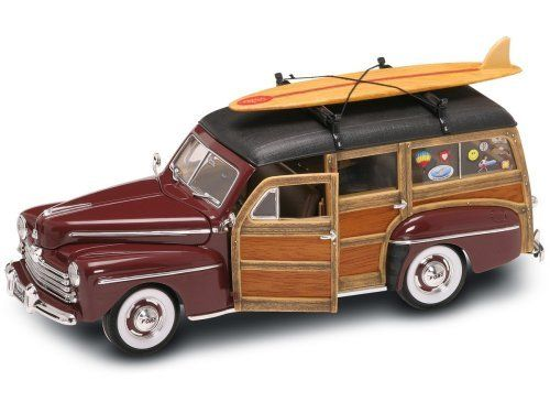 Yat Ming Scale 1:18 - 1948 Ford Woody with Real Wood Panel and Surfboard by  Yat Ming. $71.33. From the Manufacturer 20028CM Yat Ming… | Pinteres… - Yat Ming Scale 1:18 - 1948 Ford Woody With Real Wood Panel And