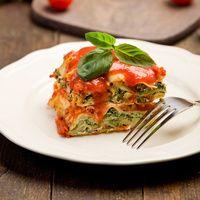 Recette Veggie Lasagnes aux courgettes, tomates, Tofu