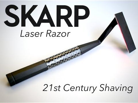 The Skarp Laser Razor Is Your Shaving Lightsaber [Video] - A new kind of razor has emerged on the market and it's called the Skarp Laser Razor. Look at it as your very own miniature shaving lightsaber.