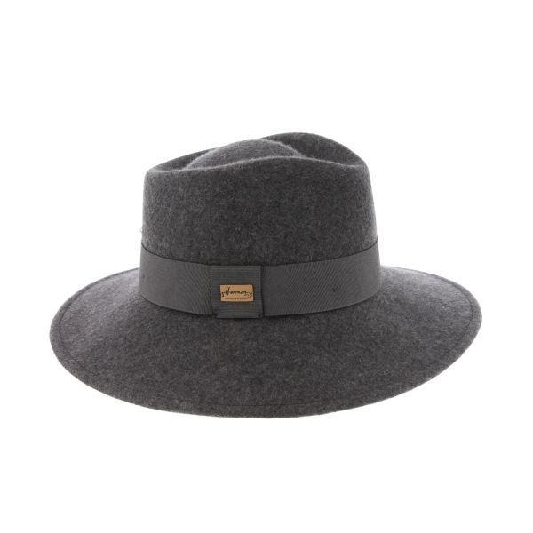 Chapeau Femme Gris Curtis marque Herman #mode #femme #bonplan #shopping